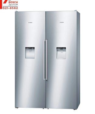 قیمت یخچال دوقلو بوش مدل KSW36PI304-GSD36PI204