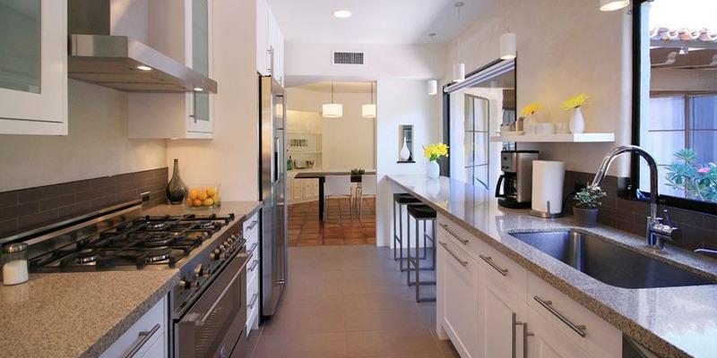 آشپزخانه های سنتی یا بسته
